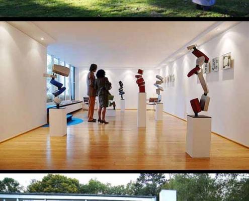 Skyfall Ausstellung Krefeld Villa Skulpturen